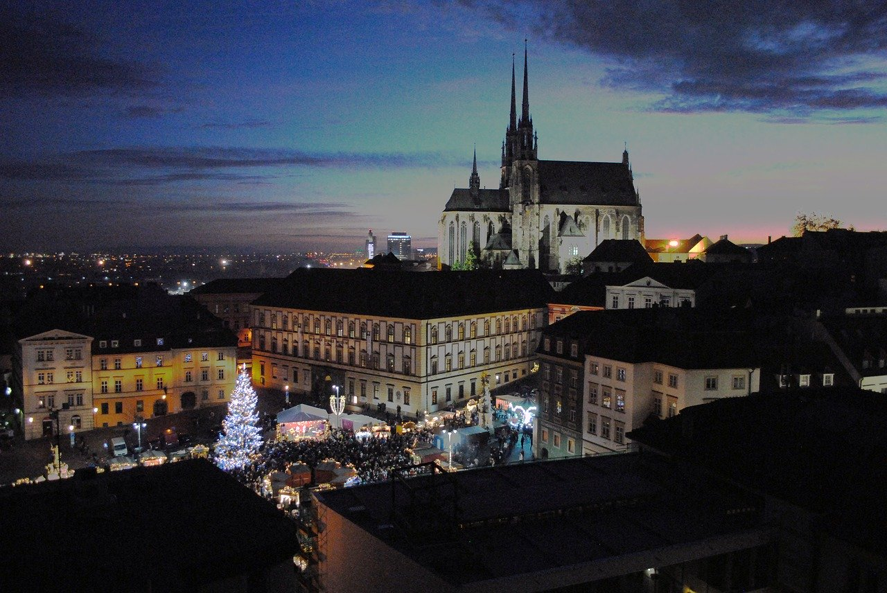 The attractions of Brno in the Czech Republic