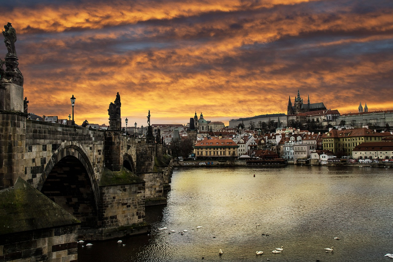 Attractions of Prague in the Czech Republic