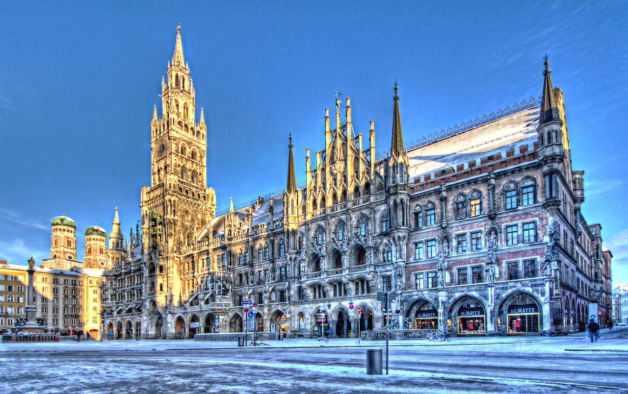 Attractions of Munich in Germany