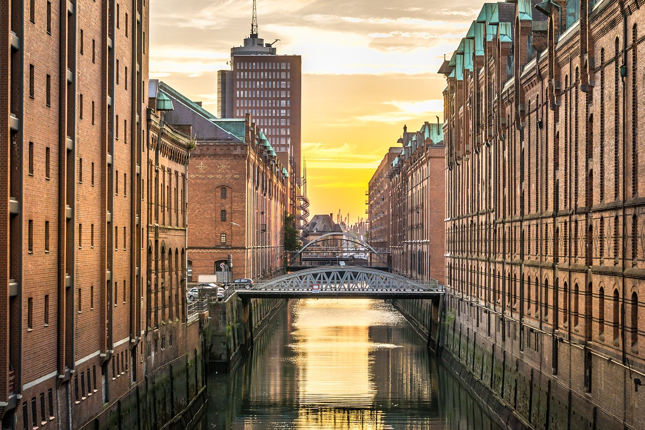 Attractions of Hamburg in Germany