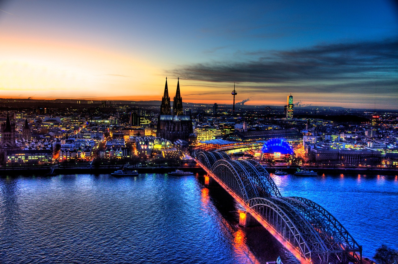 Attractions of Cologne in Germany