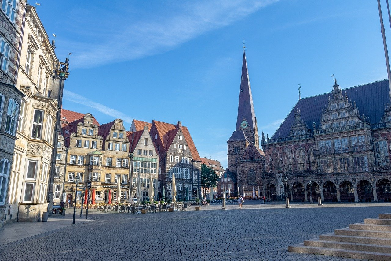 Attractions of Bremen in Germany