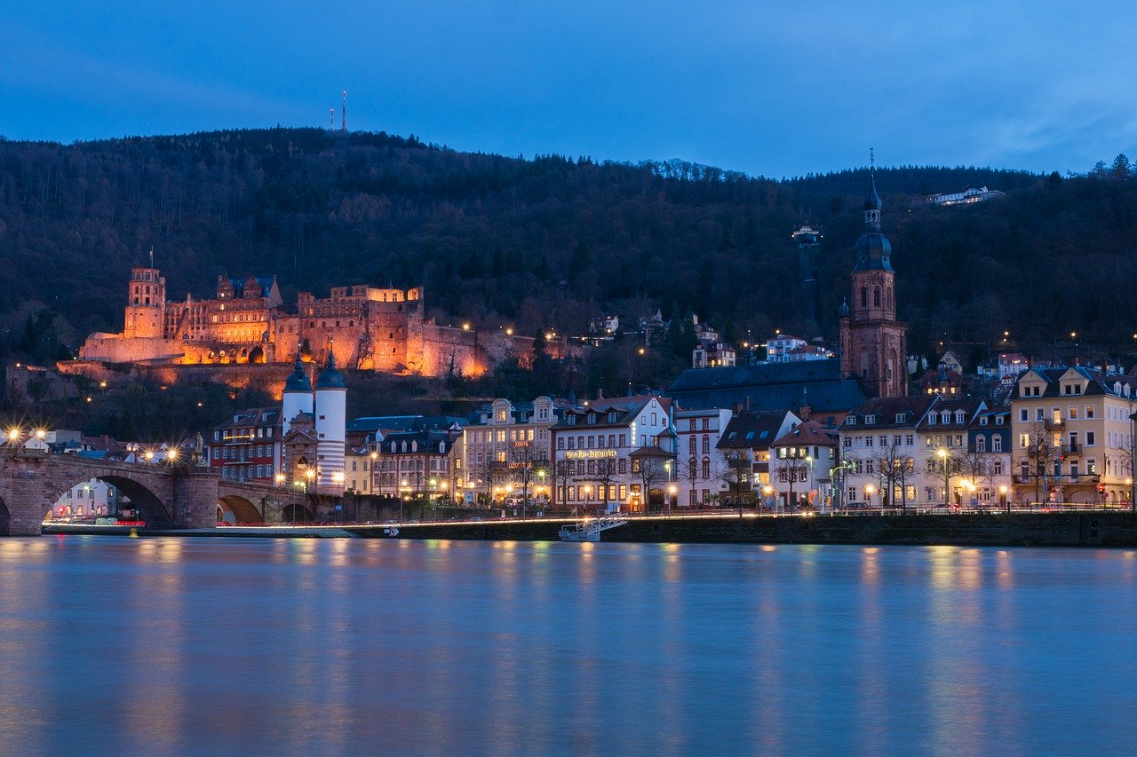 Attractions of Heidelberg in Germany