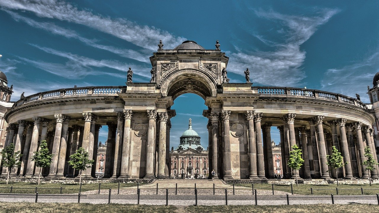 Potsdam's attractions in Germany